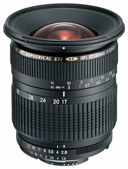 Объектив Tamron SP AF 17-35mm f/2.8-4 Di LD Aspherical (IF) (A05) Canon EF