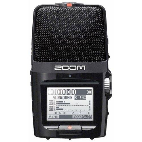 Портативный рекордер Zoom H2n черный