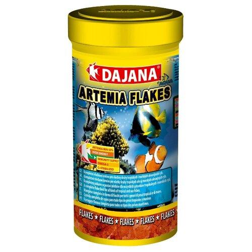 Сухой корм Dajana Pet Artemia flakes для рыб 250 млКорма для рыб и рептилий<br>