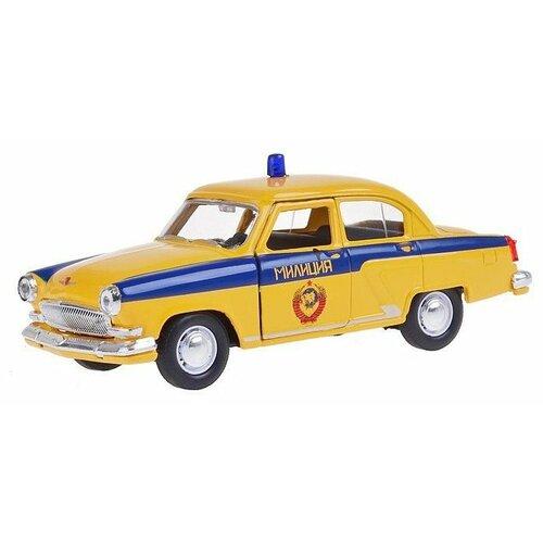 Купить Легковой автомобиль Autogrand ГАЗ-21 Волга ГАИ СССР (34103) 1:43 11 см желтый, Машинки и техника