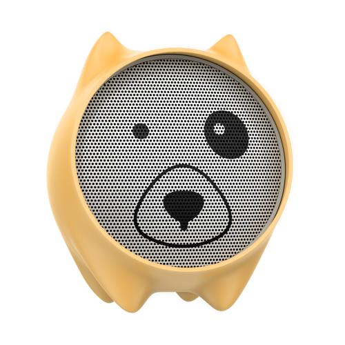 Портативная акустика Baseus Dogz yellow