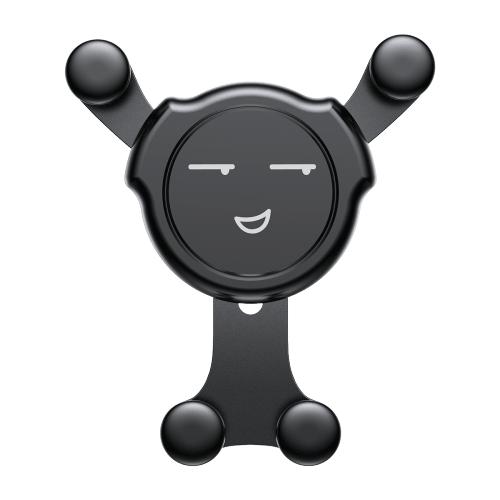 Держатель Baseus Emoticon Gravity Car Mount (SUYL-EMJX) черный