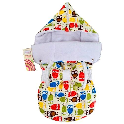 Конверт-мешок СуперМаМкет JustCute демисезонный с бантом 68 см совыКонверты и спальные мешки<br>