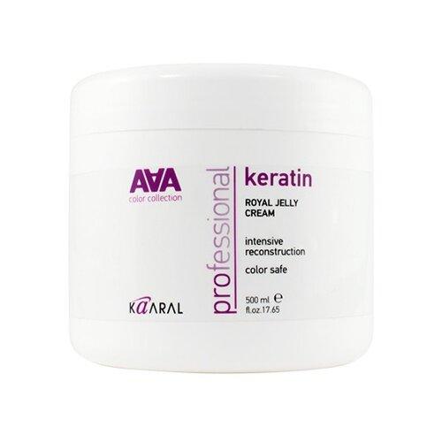 Фото - Kaaral AAA Питательная крем-маска для восстановления окрашенных и химически обработанных волос, 500 мл шампунь для волос кератиновый kaaral keratin color care 250 мл окрашенных и химически обработанных