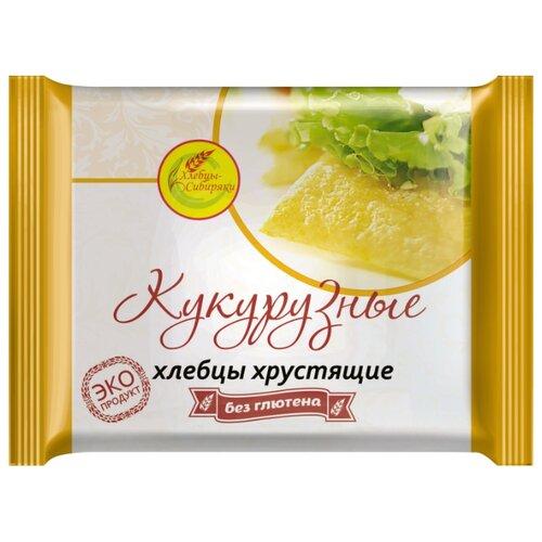 Хлебцы кукурузные Хлебцы-Сибиряки хрустящие без глютена 60 г
