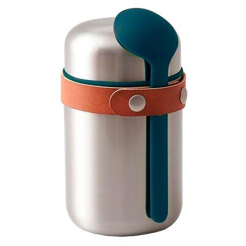 Термос для еды black + blum Box Appetit Food Flask, 0.4 л ocean