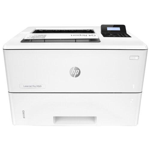 Фото - Принтер HP LaserJet Pro M501dn белый принтер