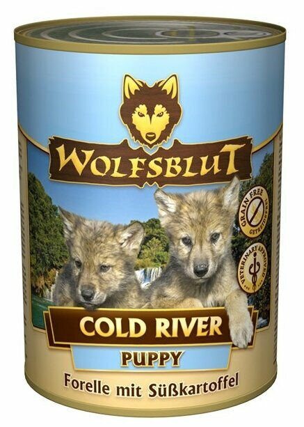 Корм для собак Wolfsblut Консервы Cold River Puppy