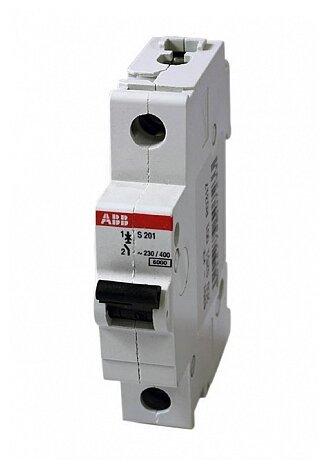 Автоматический выключатель ABB S201 1P (K) 6kA