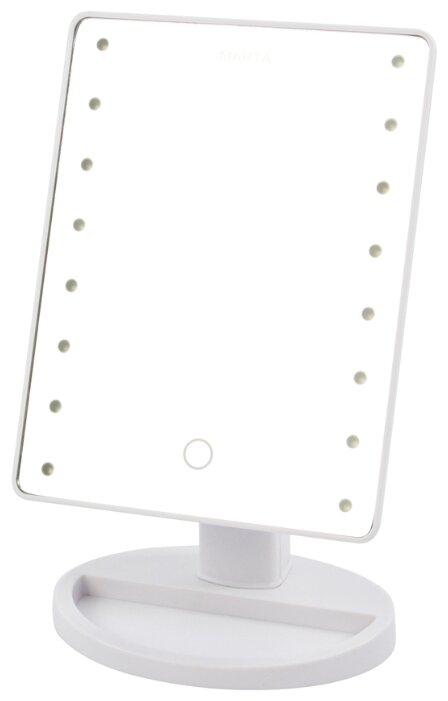 Зеркало косметическое настольное MARTA MT-2654 с подсветкой