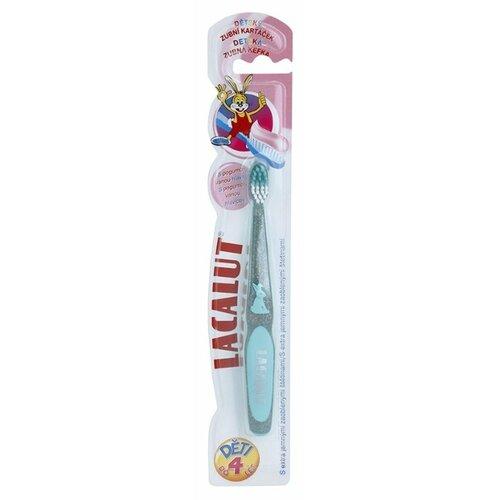 Купить Зубная щетка Lacalut Baby 0-4 лет, голубой, Гигиена полости рта