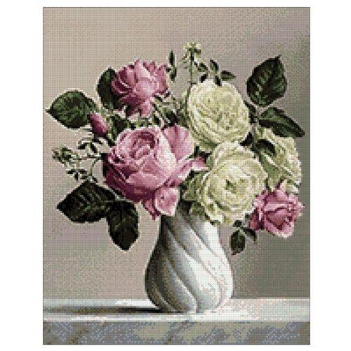Купить Гранни Набор алмазной вышивки Аура роз (ag534) 38x48 см, Алмазная вышивка