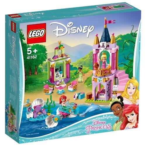 Купить Конструктор LEGO Disney Princess 41162 Королевский праздник Ариэль, Авроры и Тианы, Конструкторы