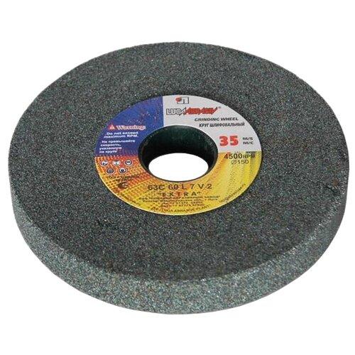Шлифовальный круг LUGAABRASIV 125х16х12.7 63С Р60Диски, щетки для точил<br>