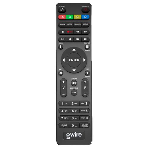 Фото - Пульт ДУ Gwire 950021 Dune для медиаплееров Dune HD TV-101W, HD TV-102W, HD Solo Lite черный hd 559