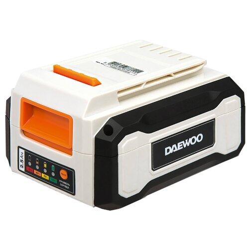 Аккумуляторный блок Daewoo Power Products DABT 2540 Li 40 В 2.5 А·ч блок автоматики daewoo power products ats 15 ddae dse