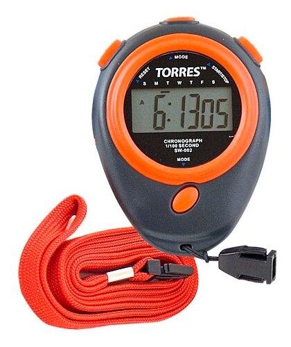 Электронный секундомер TORRES SW-002 черный/красный