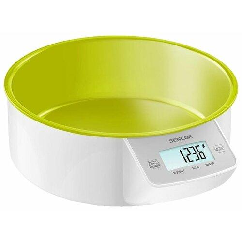 Кухонные весы Sencor SKS 4004 зеленый кухонные весы eltron el 9259 зеленый