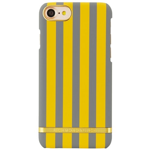 Чехол Richmond & Finch IP7-095 для Apple iPhone 7/iPhone 8 mustard satin stripesЧехлы<br>