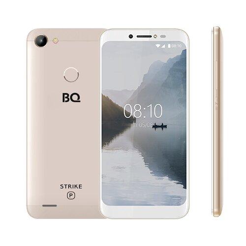 Смартфон BQ 5514G Strike Power золотой смартфон
