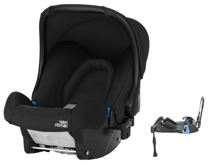 Автокресло-переноска группа 0+ (до 13 кг) BRITAX ROMER Baby-Safe + Belted Base