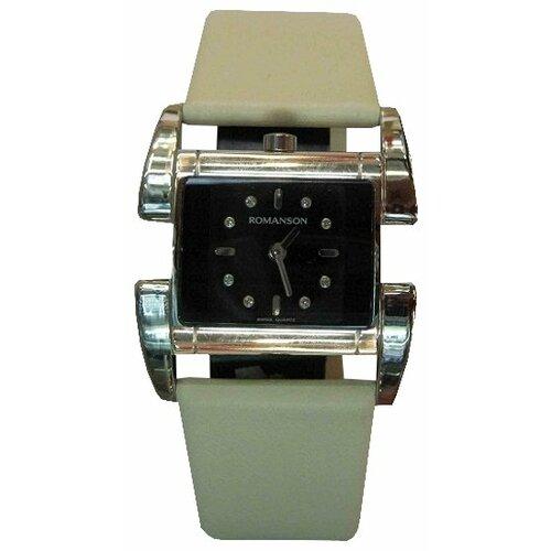 Наручные часы ROMANSON RL1201LW(BK)WH romanson tl 1273h mw wh bk