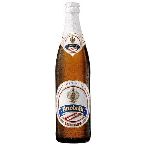 Светлое пиво Arcobrau Urfass безалкогольное 0.5 л