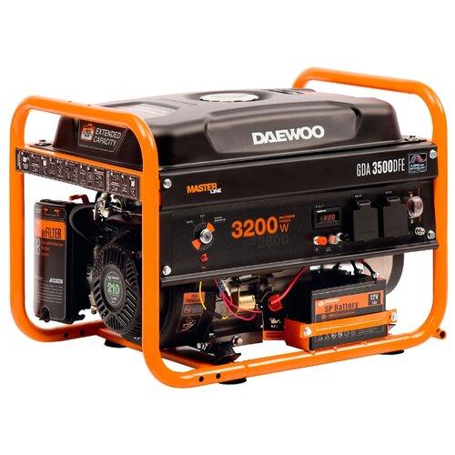 Газо-бензиновый генератор Daewoo Power Products GDA 3500DFE (2800 Вт)