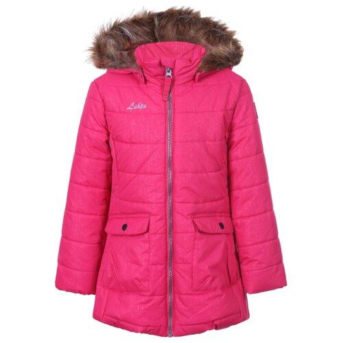 Пальто LUHTA Natalie 232015415L6V размер 110, розовый пальто для девочек luhta 434013356l7v цвет розовый р 164 100%полиэстер 605