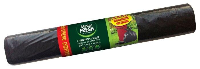 Мешки для мусора Master FRESH С0005411 200 л (10 шт.) черный
