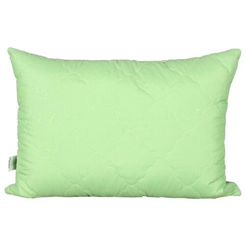 Подушка АльВиТек Микрофибра-Бамбук (ПМБ-050) 50 х 70 см зеленый наматрасник односпальный альвитек бамбук микрофибра 120 200 см