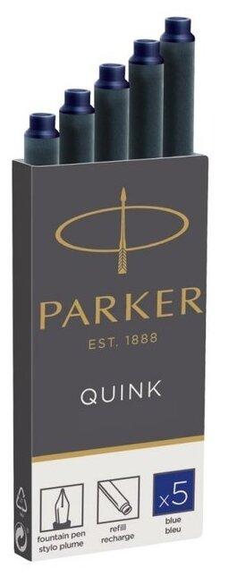Картридж для перьевой ручки PARKER Quink Z11 (5 шт.)