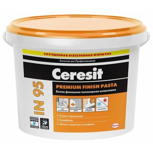 Шпатлевка Ceresit IN 95, белый, 5 кг