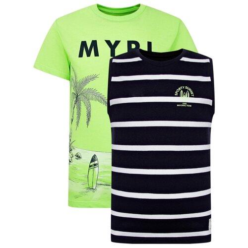 Купить Комплект одежды Mayoral размер 128, зеленый/синий, Комплекты и форма