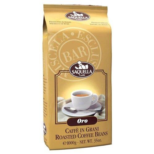Кофе в зернах Saquella Espresso Oro, арабика/робуста, 1 кг кофе в зернах kami lespresso oro 1 кг