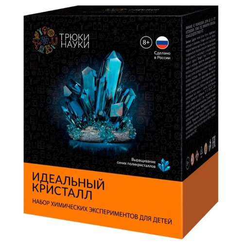 Набор для исследований Трюки науки Идеальный кристалл синий, Наборы для исследований  - купить со скидкой