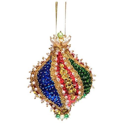 Купить Волшебная Мастерская Шар новогодний из пайеток Падишах ШП-14, Картины из пайеток