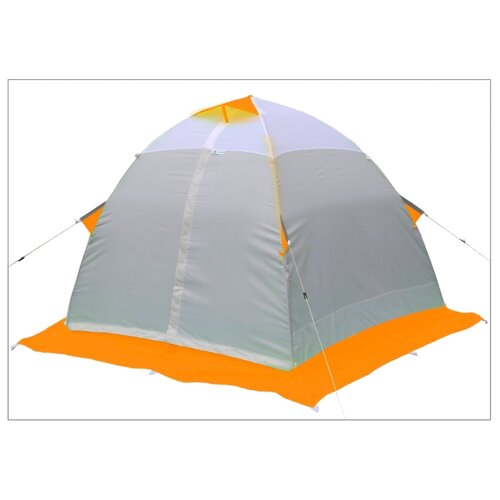 Палатка ЛОТОС 2 для рыбалки оранжевый палатка normal лотос 2n yellow