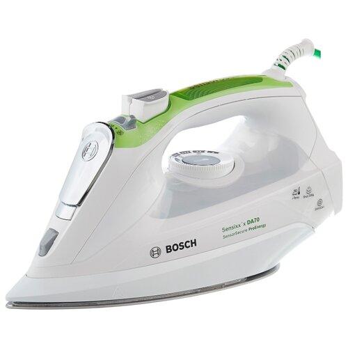 Фото - Утюг Bosch TDA 702421E белый/зеленый утюг bosch tda5028020 2800вт белый фиолетовый