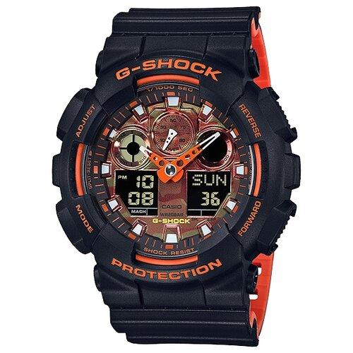 Наручные часы CASIO GA-100BR-1A casio casio ga 110ln 1a