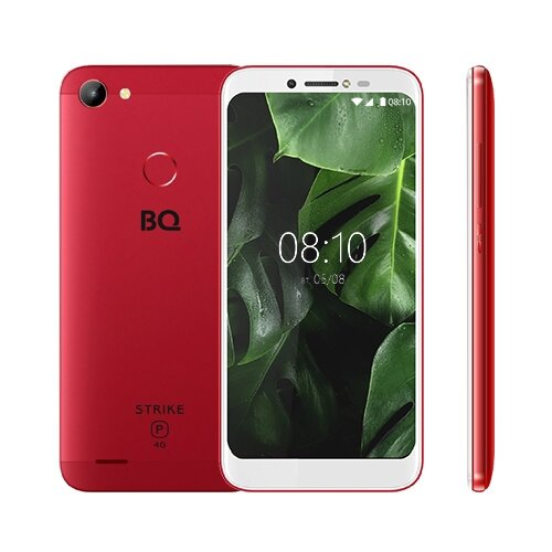 Смартфон BQ 5514L Strike Power 4G красный смартфон bq 5514l strike power 4g красный