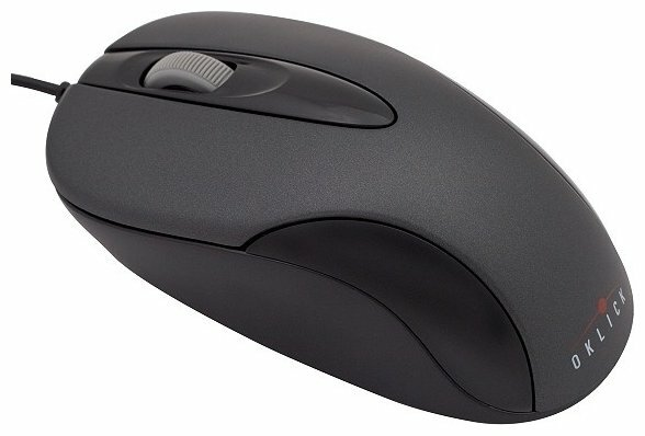 Мышь Oklick 151 M Optical Mouse Black PS/2