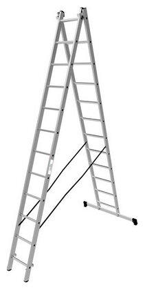 Лестница трансформер 2-секционная ОЛИМП 1220213 A