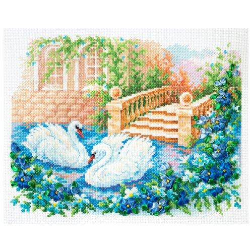 Фото - Чудесная Игла Набор для вышивания Лебединая верность 26 х 21 см (64-07) чудесная игла набор для вышивания лебединая пара 30 х 21 см 64 01