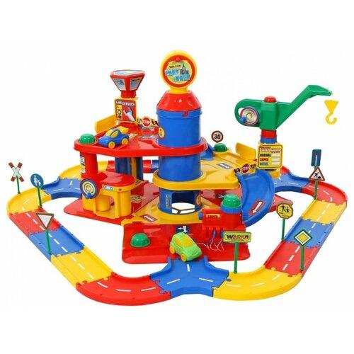 Купить Wader Паркинг 37862, Детские парковки и гаражи