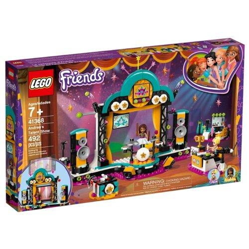 Конструктор LEGO Friends 41368 Шоу талантов Андреа конструктор lego friends игровая шкатулка андреа