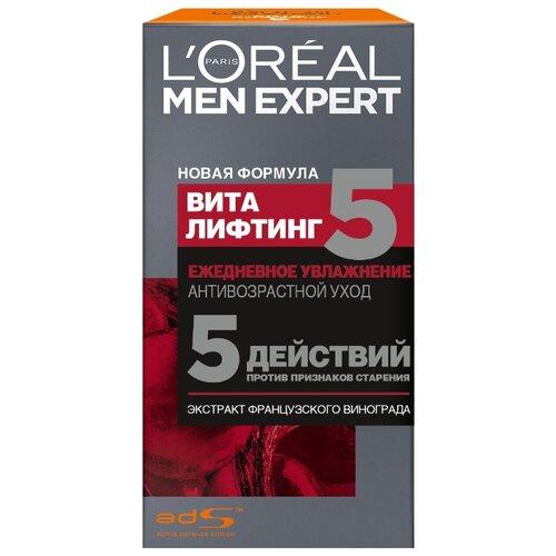 Купить L'Oreal Paris Крем для лица Men Expert Виталифтинг 5 50 мл
