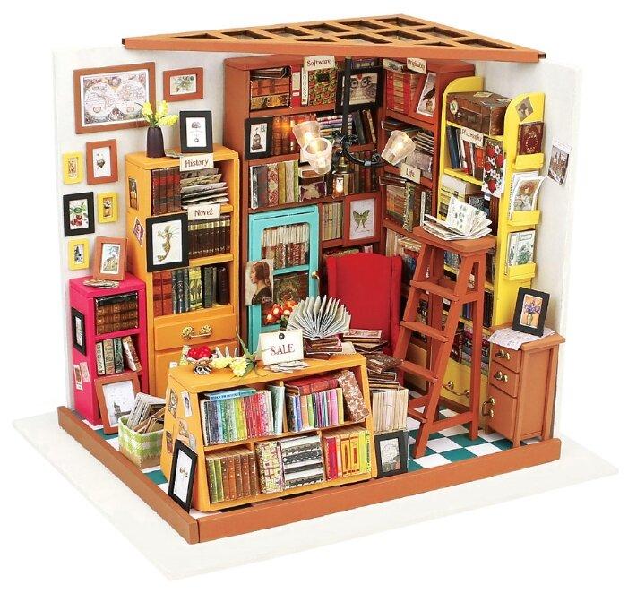 Сборная модель Rolife Румбокс Библиотека (DG102),