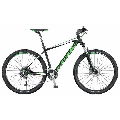 цена на Горный (MTB) велосипед Scott Aspect 740 (2016) black/green/white XL (требует финальной сборки)