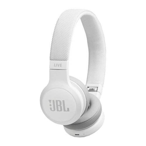 Беспроводные наушники JBL Live 400BT white headphones jbl live 400bt